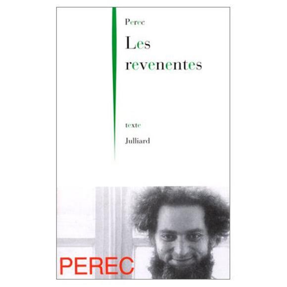 Georges Perec Les Revenentes